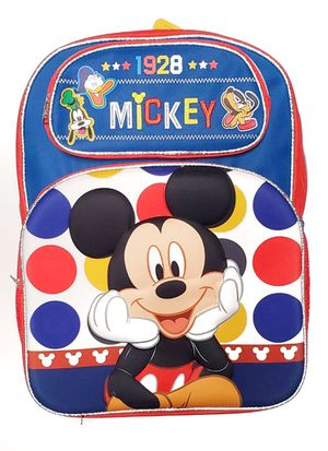 NEW! Disney 3D Mickey Mouse And Friends backpack kids bag travel bag toys cartoon book bag school bag shoulder bag Donald Duck goofy Disneyland for Sale in Carson, CA