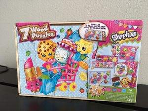 Shopkins wooden Puzzles for Sale in Renton, WA