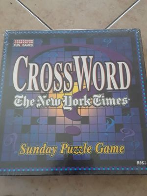Crossword puzzle game for Sale in Chula Vista, CA
