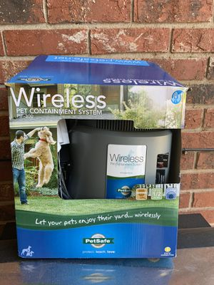 NEW Pet safe wireless pet container system for Sale in Boiling Springs, SC
