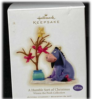 Hallmark Winnie The Pooh Christmas Ornament 2009 Humble Sort Of Christmas Eeyore for Sale in Moreno Valley, CA