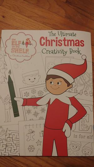 Elf on the shelf coloring book for Sale in Owatonna, MN