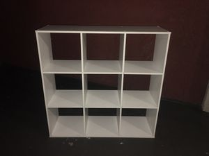 White (9 Cabinet) Shelf for Sale in Los Angeles, CA