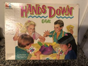 Vintage hands down board game complete for Sale in El Paso, TX