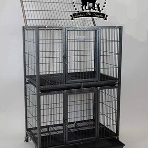 "NEW! 31"" Two-Tier Heavy-Duty Dog Cage (Kennel) (Crate) for Sale in Colton, CA"