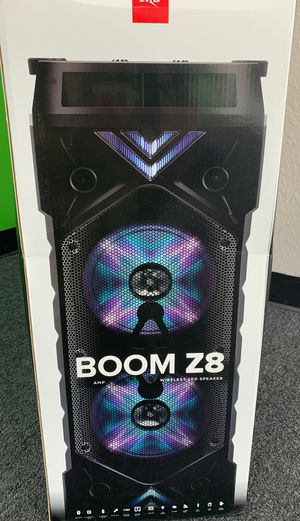 Zizo Boom Z8! Perfect for summer nights! for Sale in Victoria, TX