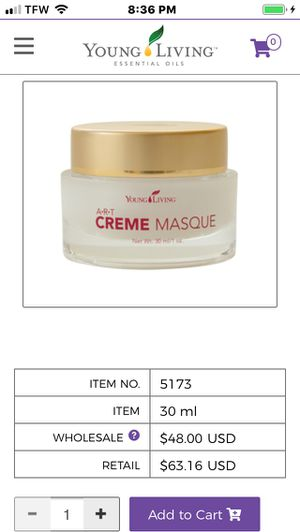Young living cream mask for Sale in Modesto, CA