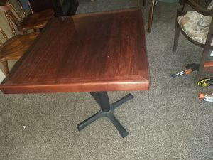 2 seat restaurant table for Sale in Norwalk, CT