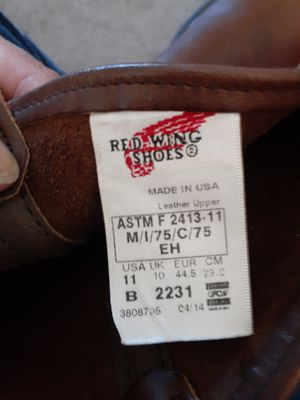 Men's size 11 Red wing slip on work boots for Sale in Hayward, CA