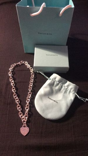 Return to Tiffany heart tag necklace for Sale in Chesterfield, MO
