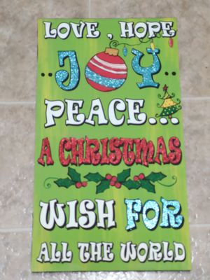 Canvas christmas wall art for Sale in Sacramento, CA