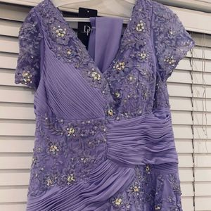 Womens Evening Dress Gown Prom Purple Large for Sale in Auburn, WA