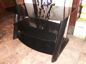 Nice glass TV stand good condition asking for 160 for Sale in Houston, TX