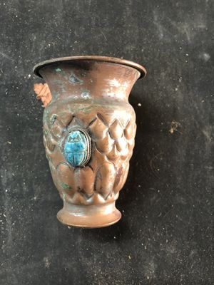 Silver plate urn tiny 4 inch antique for Sale in Miami, FL