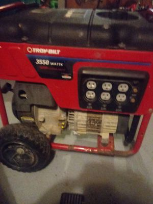 TROY-BILT 3550 WATTS GENERATOR for Sale in Columbus, OH
