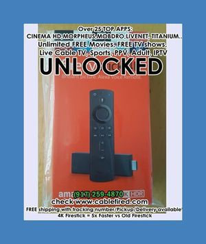 Ultra new Amazon fire TV Stick for Sale in Hoboken, NY
