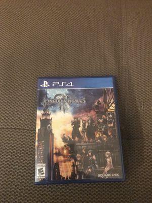 Kingdom Hearts 3 - PS4 for Sale in Miami, FL