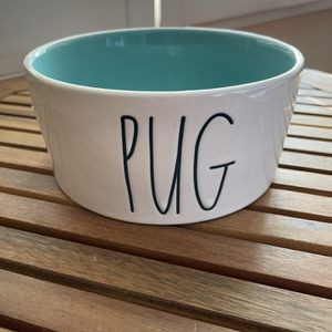 New Rae Dunn Pug Dog Bowl for Sale in Hacienda Heights, CA