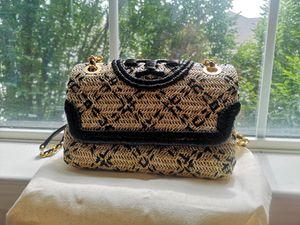 Tory Burch Small Fleming Straw Shoulder Bag for Sale in Atlanta, GA