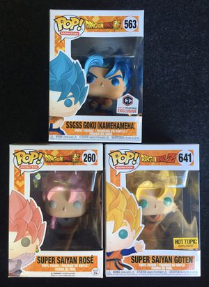 Funko Pop Dragonball Z Super for Sale in Los Angeles, CA