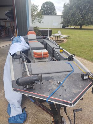 Tracker panfisher boat for Sale in Fort Valley, GA