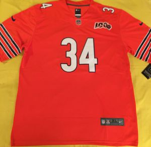 Walter Payton bears football orange jersey brand new XL $35 for Sale in Cicero, IL