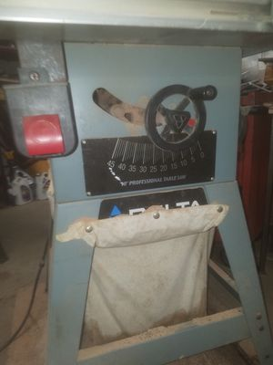 Delta contractor table saw for Sale in Concord, CA