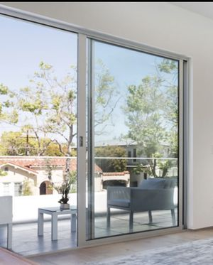 "Fleetwood Sliding doors. White trim. 96x96"" for Sale in San Diego, CA"