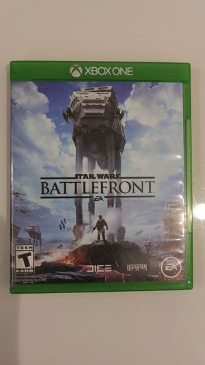 STAR WARS BATTLEFRONT XBOX ONE for Sale in Missoula, MT