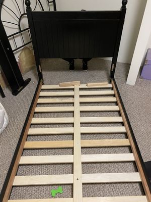 Twin bed frame for Sale in Port Washington, WI