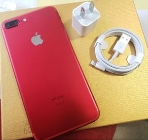 iPhone 7+ Plus , 128 GB , Unlocked for All Company Carrier, Excellent Condition like New for Sale in Springfield, VA