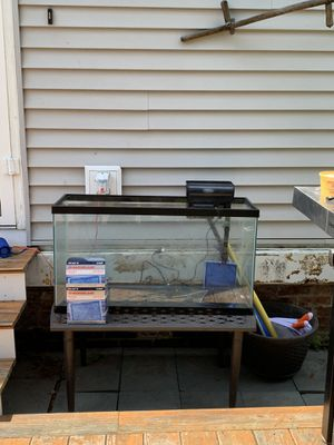 Fish tank and filter for Sale in North Attleborough, MA
