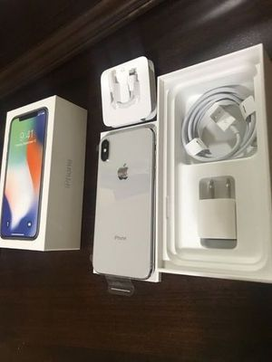 iPhone X Brand New AT&T for Sale in Copper Canyon, TX