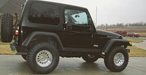 Carfax Wrangler 2003 Rubicon Jeep for Sale in Des Moines, IA