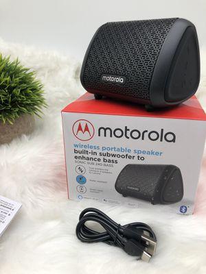 Motorola Wireless Portable Speaker-Brand New for Sale in Salt Lake City, UT