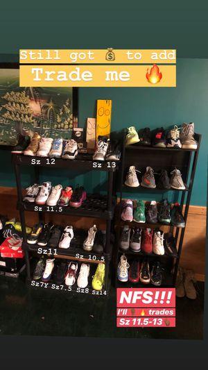 Sz 7Y-14 Yeezys Jordan's Bape Supreme Kaws Nike Foams Adidas Hype for Sale in Manassas, VA