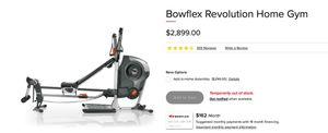 Bow flex 💪 home gym system (read the full post) for Sale in Springfield, VA