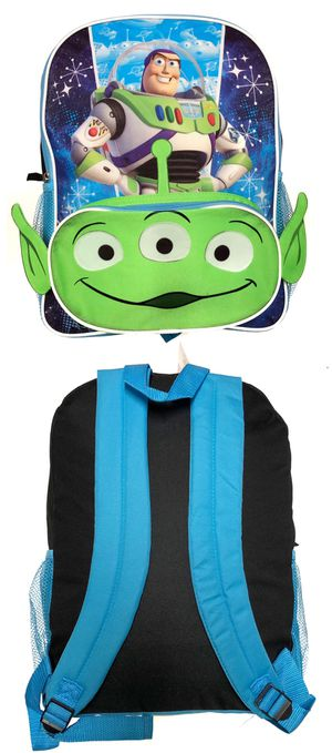 NEW! Disney Toy Story 4 Backpack buzz lightyear alien woody forky kids bag travel bag back to school bag for Sale in Carson, CA