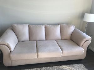 Ashley's Furniture Sofa- Excellent condition! Hurry- Will go fast! for Sale in Herndon, VA