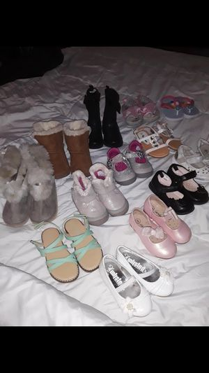 Toddler Girls size 6-7 Shoe lot for Sale in Holiday, FL