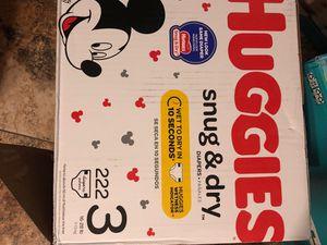 Huggies. Size. 3 for Sale in Phoenix, AZ