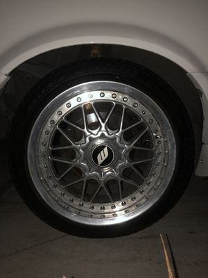 WORK Barosso 16inch Staggered Wheels 4x100 for Sale in Chula Vista, CA