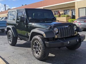 2013 Jeep Wrangler Sport Hardtop 2-Door 4x4 - Power Group for Sale in Pompano Beach, FL