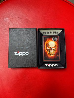 Burning Skull zippo for Sale in North Las Vegas, NV