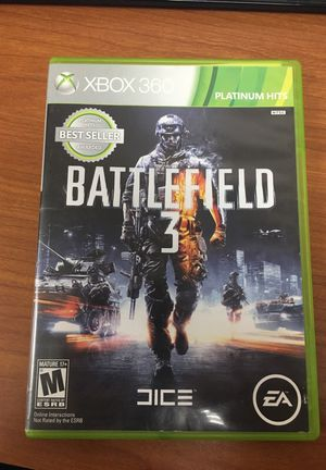 Battlefield 3 Xbox 360 game for Sale in Fort Meade, MD