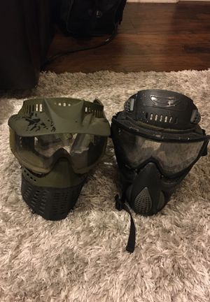 2 Masks with goggles for Sale in Goodyear, AZ