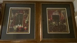 B. Sikes Framed Prints, $100 for the Pair, 25x29 for Sale in San Antonio, TX
