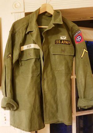 Vintage U.S. Army Jackets, Duffle Bags, Camo Blankets Bundle! for Sale in Winter Park, FL