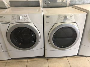 Washer and dryer whirlpool front load for Sale in Pompano Beach, FL