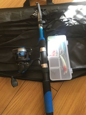Fishing reel and rod 5feet new for Sale in Vallejo, CA